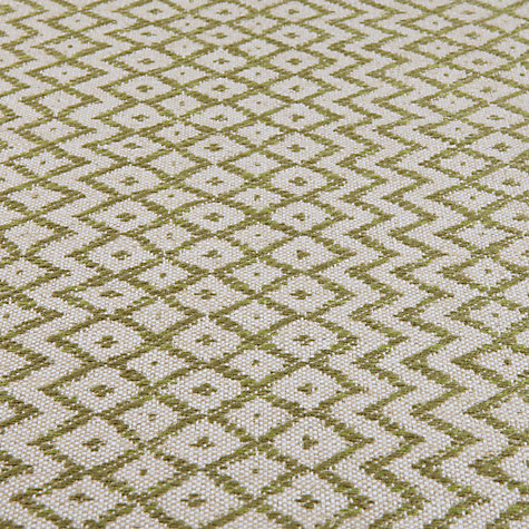 Buy Sanderson Cheslyn Woven Motif Fabric, Olive/Cream, Price Band F Online at johnlewis.com