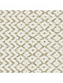 Sanderson Cheslyn Woven Motif Fabric, Linen, Price Band F