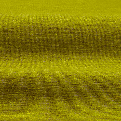 Buy Designer's Guild Genova Woven Velvet Fabric, Lime, Price Band G Online at johnlewis.com