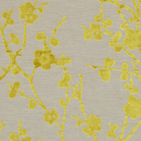 Buy Harlequin Juniper Blossom Woven Velvet Fabric, Lime, Price Band H Online at johnlewis.com