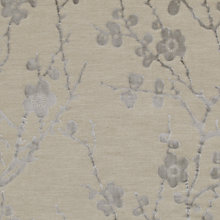 Buy Harlequin Juniper Blossom Woven Velvet Fabric, Silver Grey, Price Band H Online at johnlewis.com
