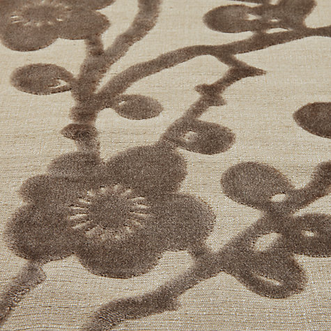 Buy Harlequin Juniper Blossom Woven Velvet Fabric, Cappuccino, Price Band H Online at johnlewis.com