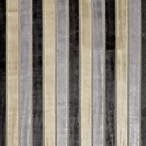 Buy Harlequin Momentum Plush Woven Velvet Fabric, Pewter, Price Band H Online at johnlewis.com