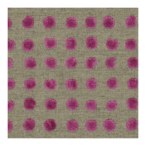 Buy Harlequin Momentum Polka Woven Velvet Fabric, Magenta, Price Band G Online at johnlewis.com