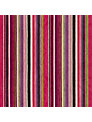 Designer's Guild Asolo Woven Velvet Stripe Fabric, Berry, Price Band G