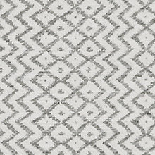 Buy Sanderson Cheslyn Woven Motif Fabric, Ivory/Silver, Price Band F Online at johnlewis.com