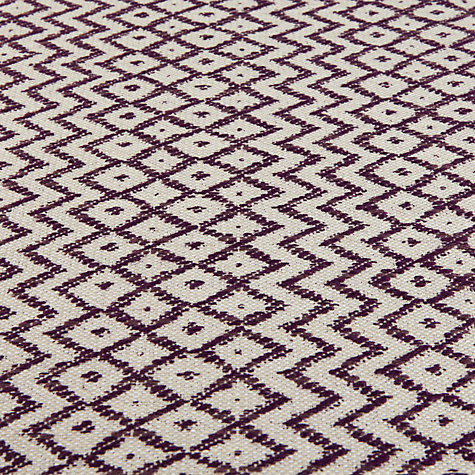Buy Sanderson Cheslyn Woven Motif Fabric, Fig/Linen, Price Band F Online at johnlewis.com