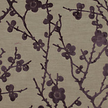 Buy Harlequin Juniper Blossom Woven Velvet Fabric, Amethyst, Price Band H Online at johnlewis.com
