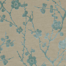 Buy Harlequin Juniper Blossom Woven Velvet Fabric, Duck Egg, Price Band H Online at johnlewis.com