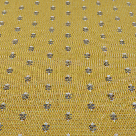 Buy Sanderson Lydham Woven Motif Fabric, Citron, Price Band G Online at johnlewis.com