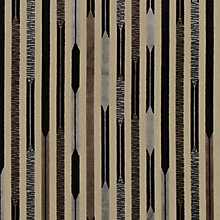 Buy Sanderson Kandinsky Woven Velvet Fabric, Black/Silver, Price Band F Online at johnlewis.com