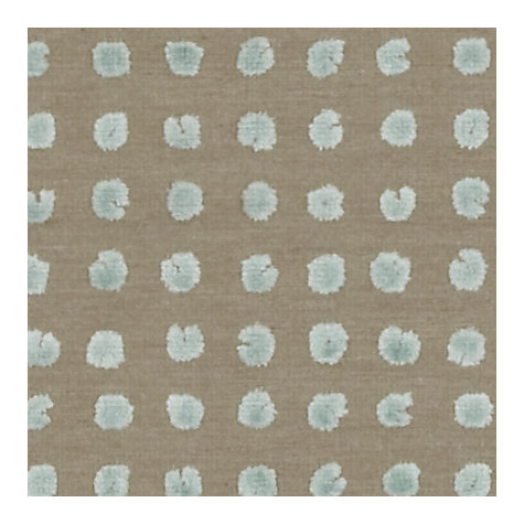 Buy Harlequin Momentum Polka Woven Velvet Fabric, Ice Natural, Price Band G Online at johnlewis.com