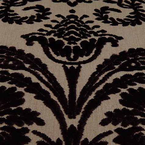 Buy Designer's Guild Ombrione Cut Pile Velvet Fabric, Grape, Price Band G Online at johnlewis.com