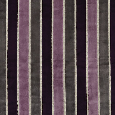 Buy Harlequin Momentum Plush Woven Velvet Fabric, Aubergine, Price Band H Online at johnlewis.com