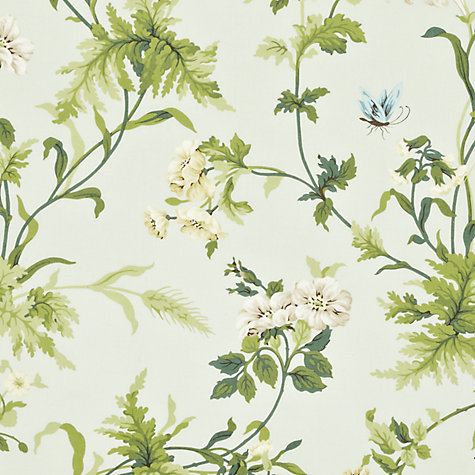 Buy Sanderson Primrose Hill Woven Print Fabric, Eggshell/Cream, Price Band E Online at johnlewis.com