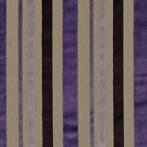 Buy Designer's Guild Trasimeno Woven Velvet Fabric, Amethyst, Price Band G Online at johnlewis.com