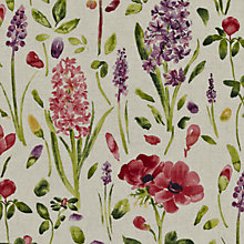Buy Sanderson Spring Flowers Woven Print Fabric, Multi, Price Band E Online at johnlewis.com