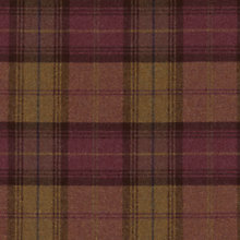 Buy Sanderson Woodford Plaid Woven Check Fabric, Garnet/Olive, Price Band G Online at johnlewis.com