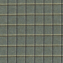 Buy Sanderson Woodford Check Woven Check Fabric, Bayleaf/Vellum, Price Band G Online at johnlewis.com