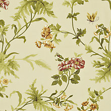 Buy Sanderson Primrose Hill Woven Print Fabric, Gold/Russet, Price Band E Online at johnlewis.com