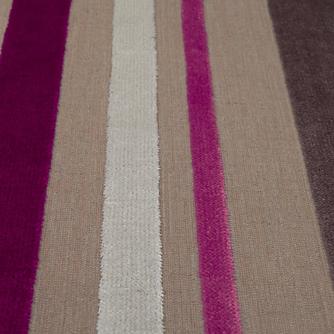 Buy Designer's Guild Trasimeno Woven Velvet Fabric, Berry, Price Band G Online at johnlewis.com