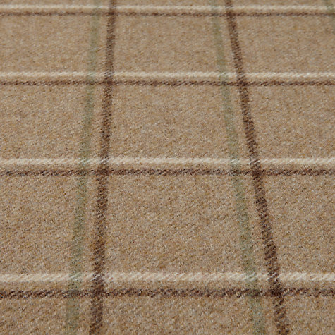 Buy Sanderson Woodford Check Woven Check Fabric, Biscuit/Ivory, Price Band G Online at johnlewis.com