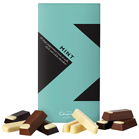 Buy Hotel Chocolat Assorted Mint Chocolates, 100g Online at johnlewis.com