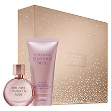 Buy Estée Lauder Sensuous Nude Gift Set 30ml with Makeup Artist Collection Online at johnlewis.com