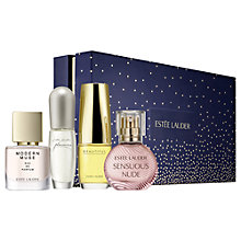 Buy Estée Lauder Fragrance Treasures Gift Set with Makeup Artist Collection Online at johnlewis.com