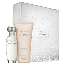 Buy Estée Lauder Pleasures Fragrance Gift Set with Makeup Artist Collection Online at johnlewis.com