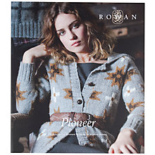 Buy Rowan Pioneer Knitting Pattern Book Online at johnlewis.com