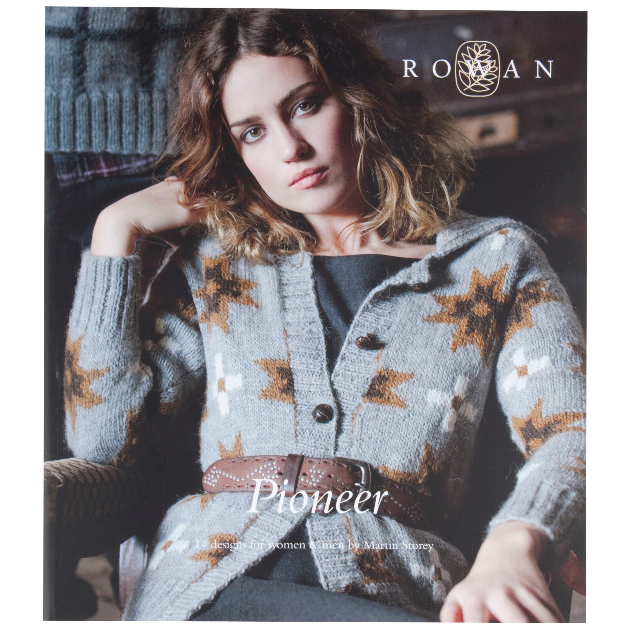 Buy Rowan Pioneer Knitting Pattern Book John Lewis