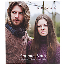 Buy Rowan Autumn Knits Knitting Pattern Book Online at johnlewis.com