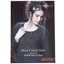 Buy Rowan Kidsilk Haze Eclipse Mini Collection Knitting Patterns Brochure Online at johnlewis.com