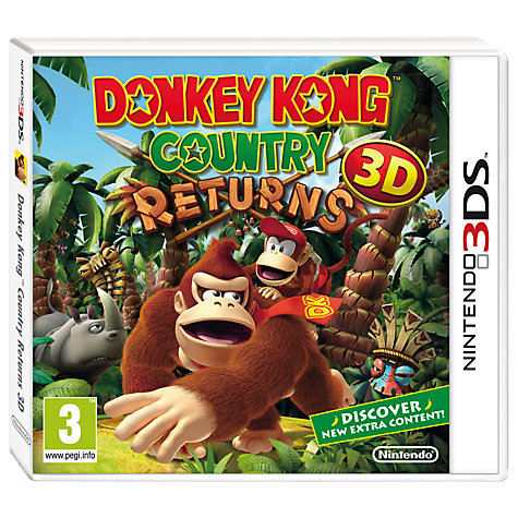 Buy Donkey Kong Country Returns 3D, 3DS Online at johnlewis.com