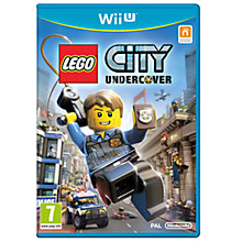 Buy LEGO City: Undercover, Wii U Online at johnlewis.com