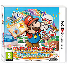 Buy Paper Mario: Sticker Star, 3DS Online at johnlewis.com