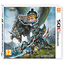Buy Monster Hunter 3: Ultimate, 3DS Online at johnlewis.com
