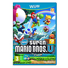 Buy New Super Mario Bros. U, Wii U Online at johnlewis.com