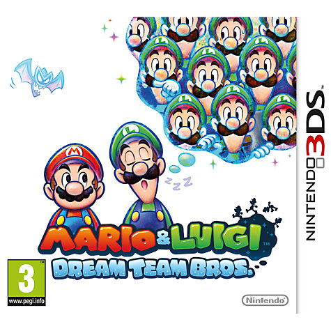 Buy Mario & Luigi: Dream Team Bros., 3DS Online at johnlewis.com