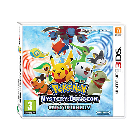Buy Pokemon Mystery Dungeon: Gates to Infinity, 3DS Online at johnlewis.com