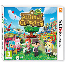 Buy Animal Crossing: New Leaf, 3DS Online at johnlewis.com