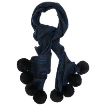 Buy French Connection Eclipse Gina Scarf, Black/Midnight Eclipse Online at johnlewis.com