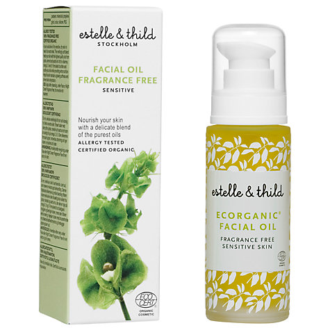 Buy Estelle & Thild Fragrance Free Facial Oil, 30ml Online at johnlewis.com