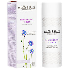 Buy Estelle & Thild Violet Slimming Oil, 100ml Online at johnlewis.com