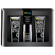 Buy Rehab London Skin Revital Shave Pack Gift Set Online at johnlewis.com