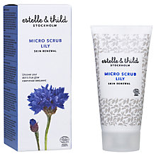 Buy Estelle & Thild Lily Micro Scrub, 50ml Online at johnlewis.com