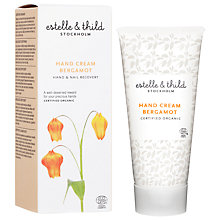 Buy Estelle & Thild Bergamot Hand Cream, 75ml Online at johnlewis.com