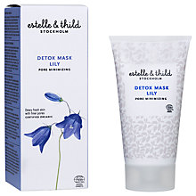 Buy Estelle & Thild Lily Detox Mask, 75ml Online at johnlewis.com