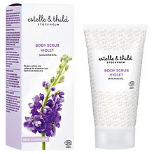 Buy Estelle & Thild Violet Body Scrub, 150ml Online at johnlewis.com